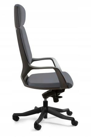 Офисный стул Apollo high черно-серый BL417
