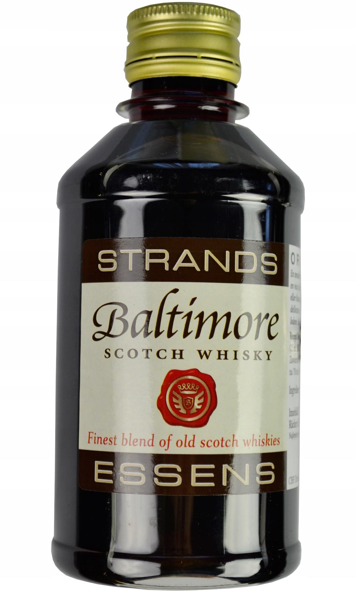 ZAPRAWKA do alkoholu BALTIMORE Scotch Whisky 250ml