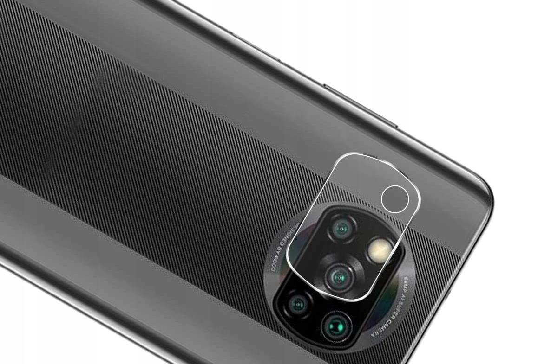 Szkło do Xiaomi POCO X3 NFC na Aparat Obiektyw Tył Dedykowany model Xiaomi POCO X3 NFC