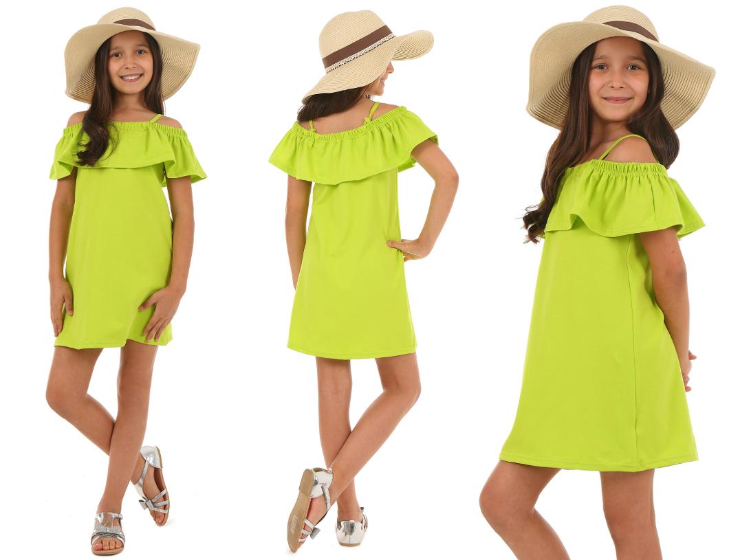 Романтическое платье с оборкой ИСПАНИЯ - 140