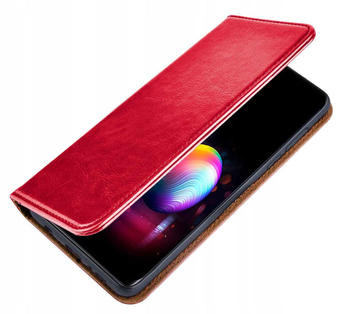 ETUI SKÓRZANE MAGNET + SZKŁO 9H do Huawei P30 Lite Dedykowany model Huawei P30 Lite