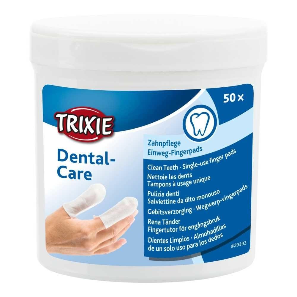 Trixie Подушечки для пальцев для чистки зубов 50шт.