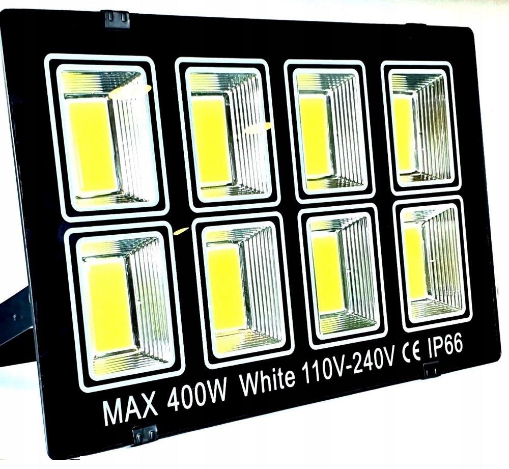 Mocna Lampa Halogen LED Certyfikat Naświetlac 400w