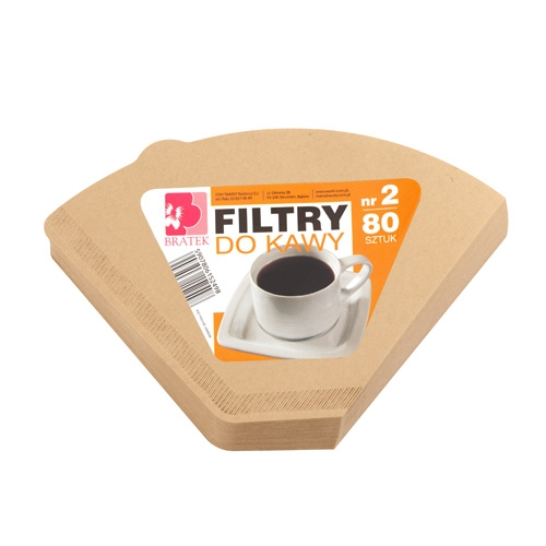 Фильтры для кофе Pansy No. 2 бумажные 80 шт.