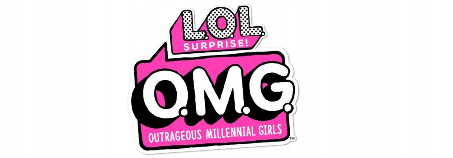 LOL SUPRISE OMG seria 5 - SUNSHINE GIRL + UBRANKA Materiał Karton Papier Plastik Tkanina