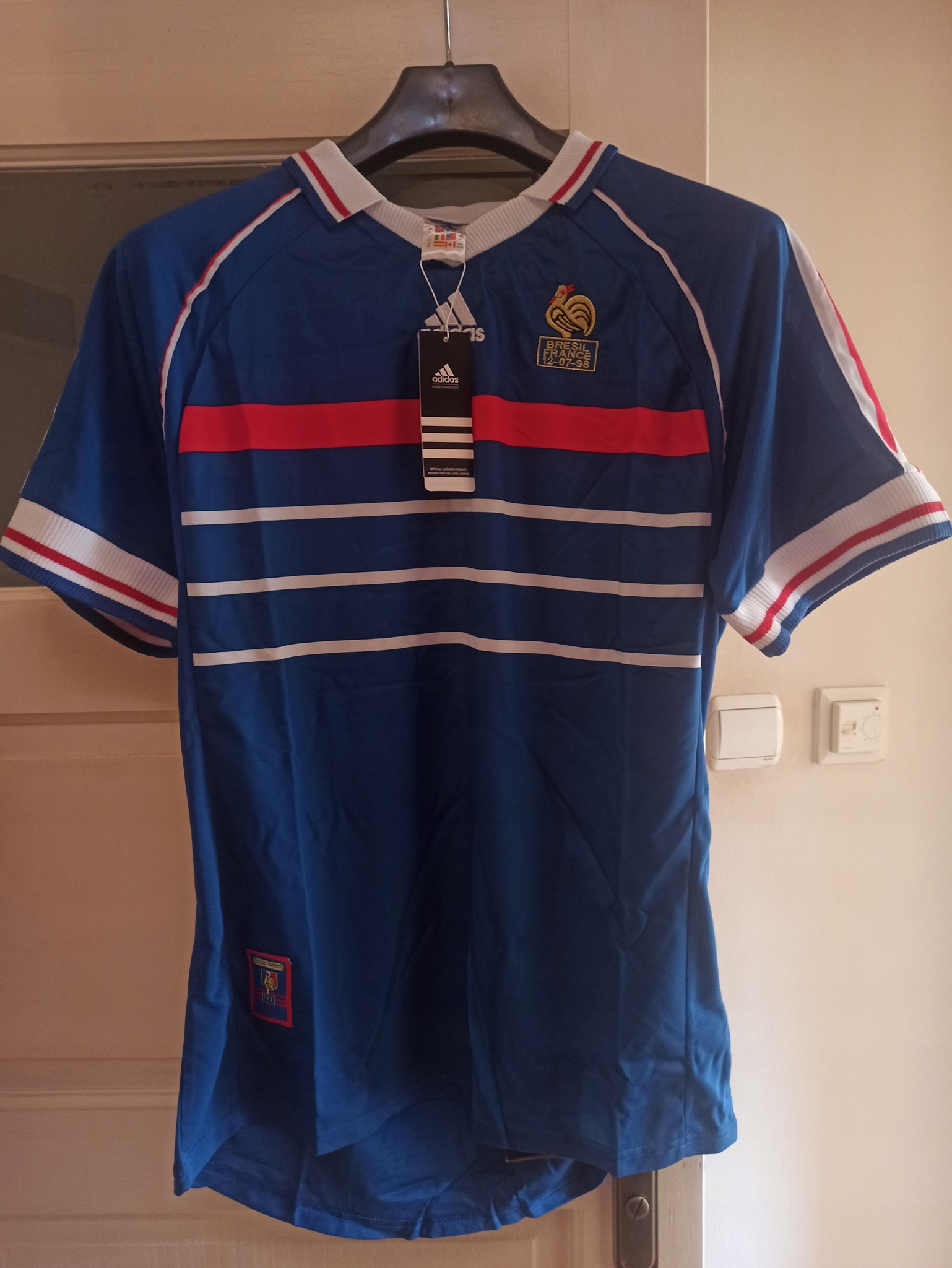 Francúzsko 1998 Retro-Reprodukcia-Replika