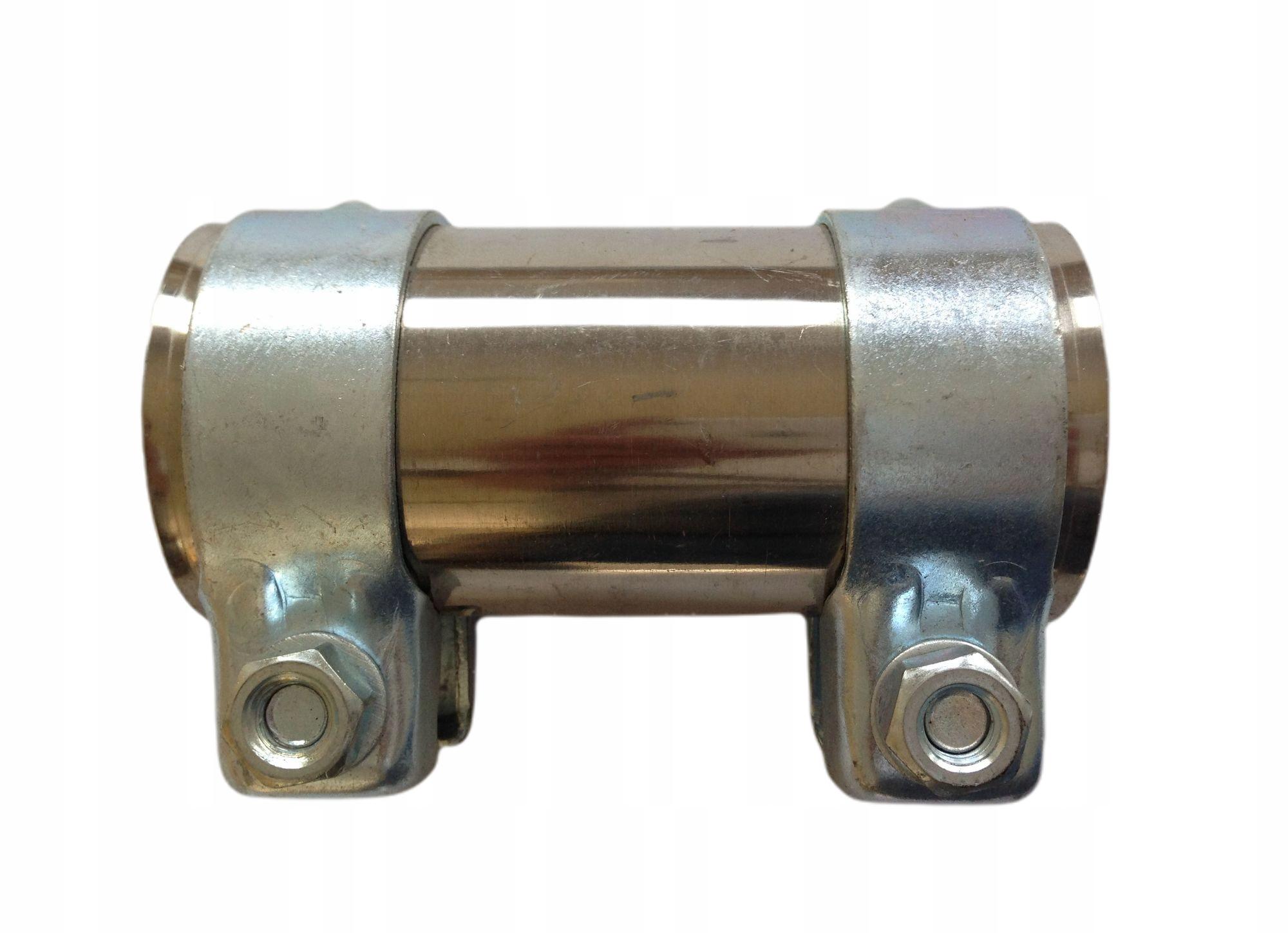 Соединитель разъем зажим труба глушителя из нержавеющей стали 55mm