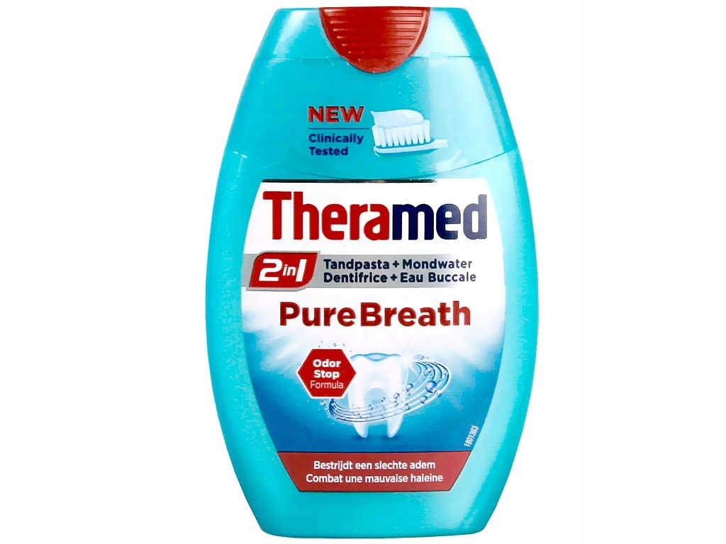 Theramed 2в1 Pure Breath зубная Паста 75мл BE