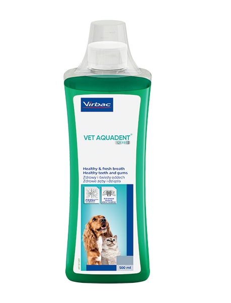 Virbac Vet Aquadent dog cat 500мл свежее дыхание