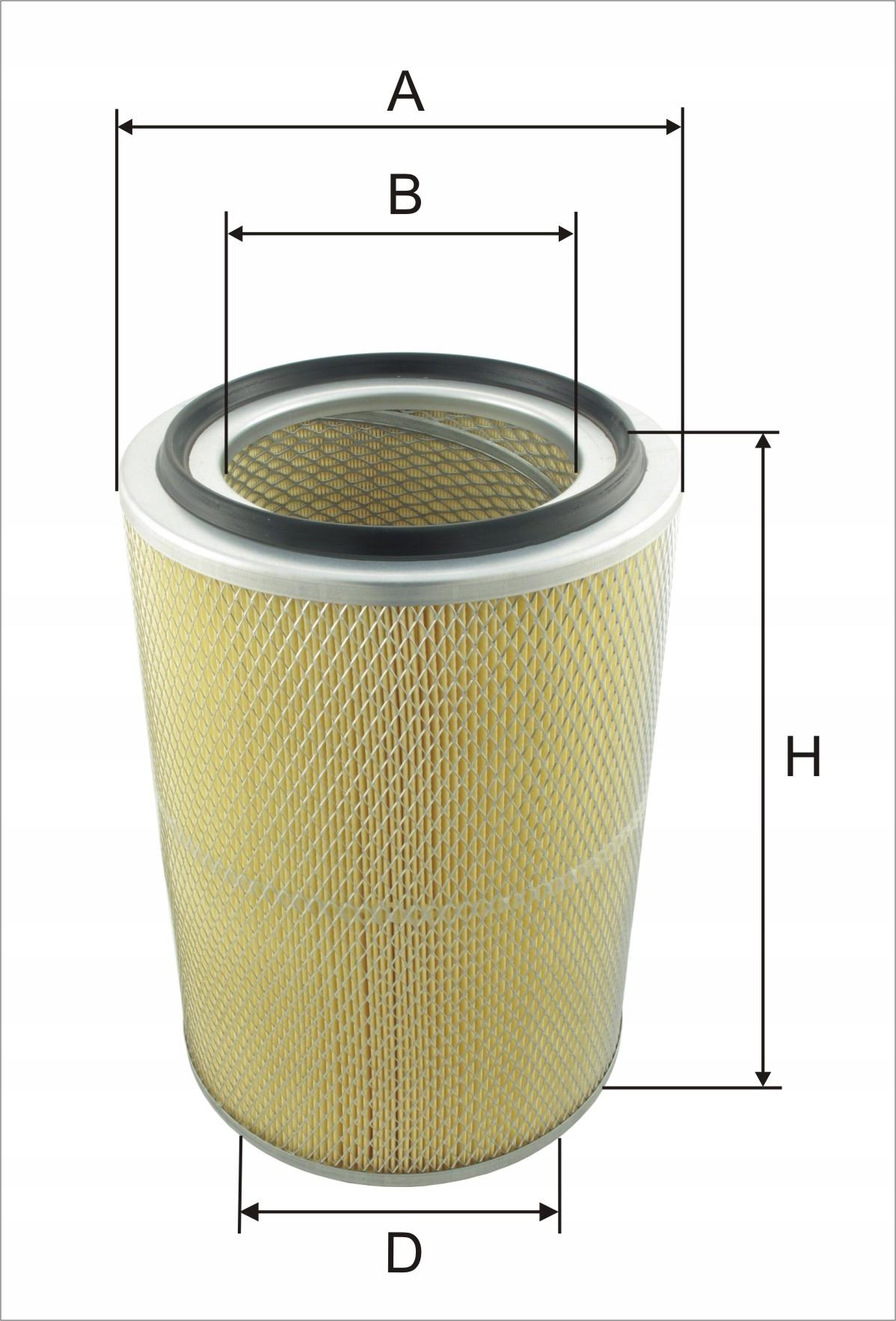 фильтр воздуха exmot wpo-372