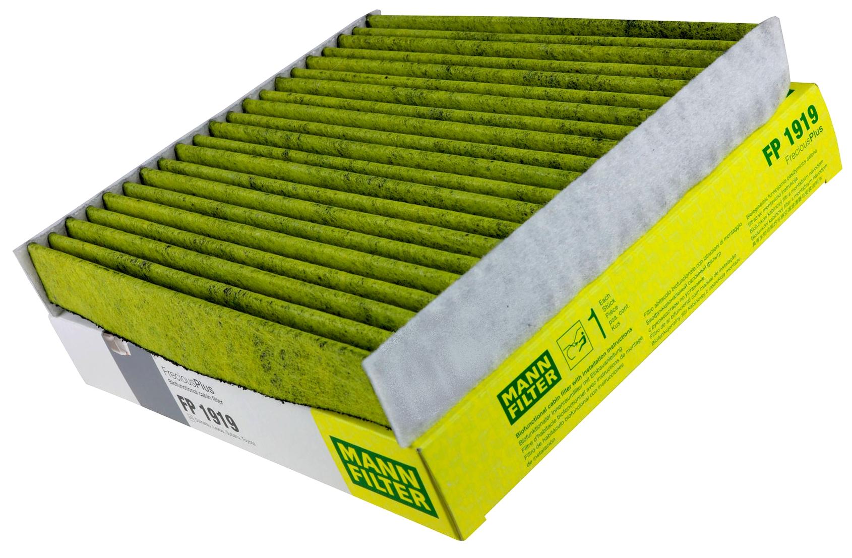 toyota фильтр кабины mann fp1919 biofunkcjonalny