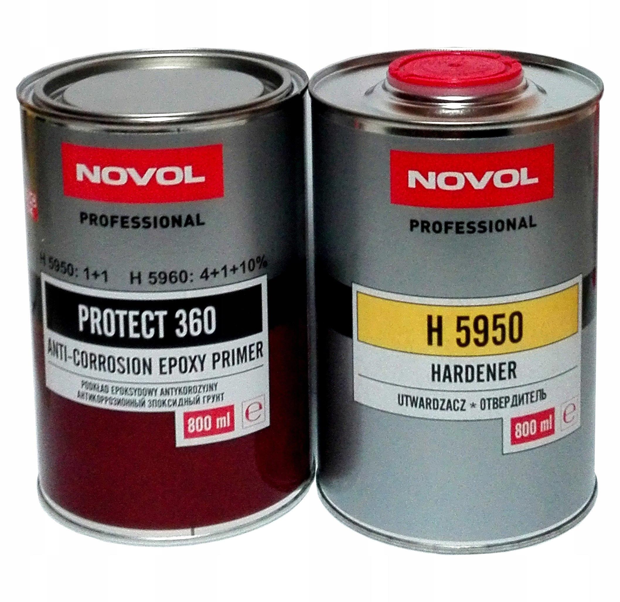 NOVOL EPOXY PRIMER ANTICORROSION PROTECT 360
