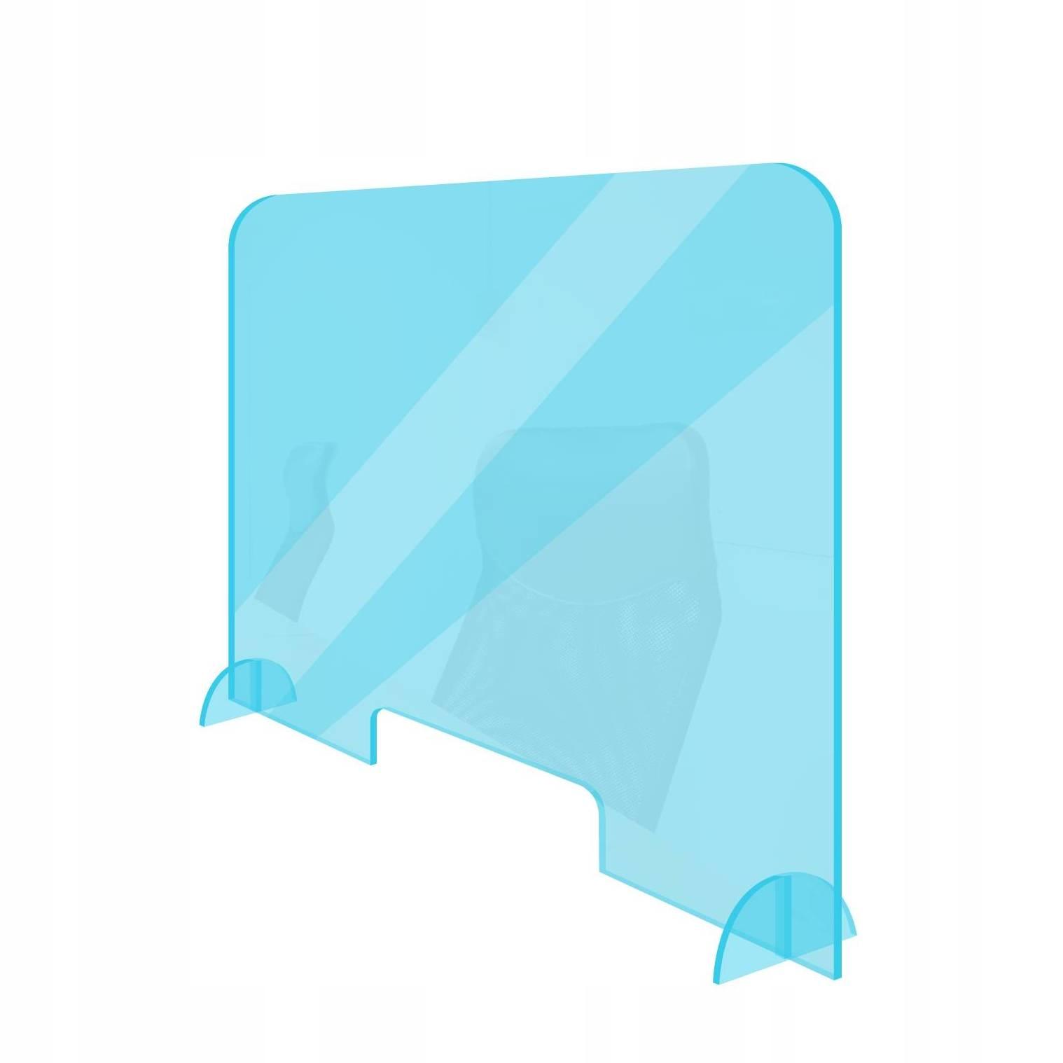 Крышка, защитная перегородка, письменный стол PLEXI PMMA 100x60
