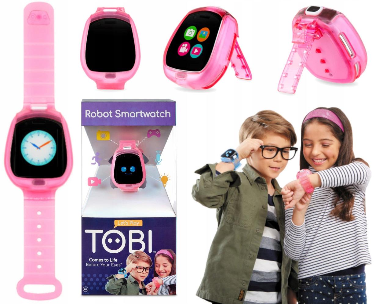 Zegarek Dla Dzieci Z Aparatem Tobi Smartwatch Roz 9833870972 Allegro Pl
