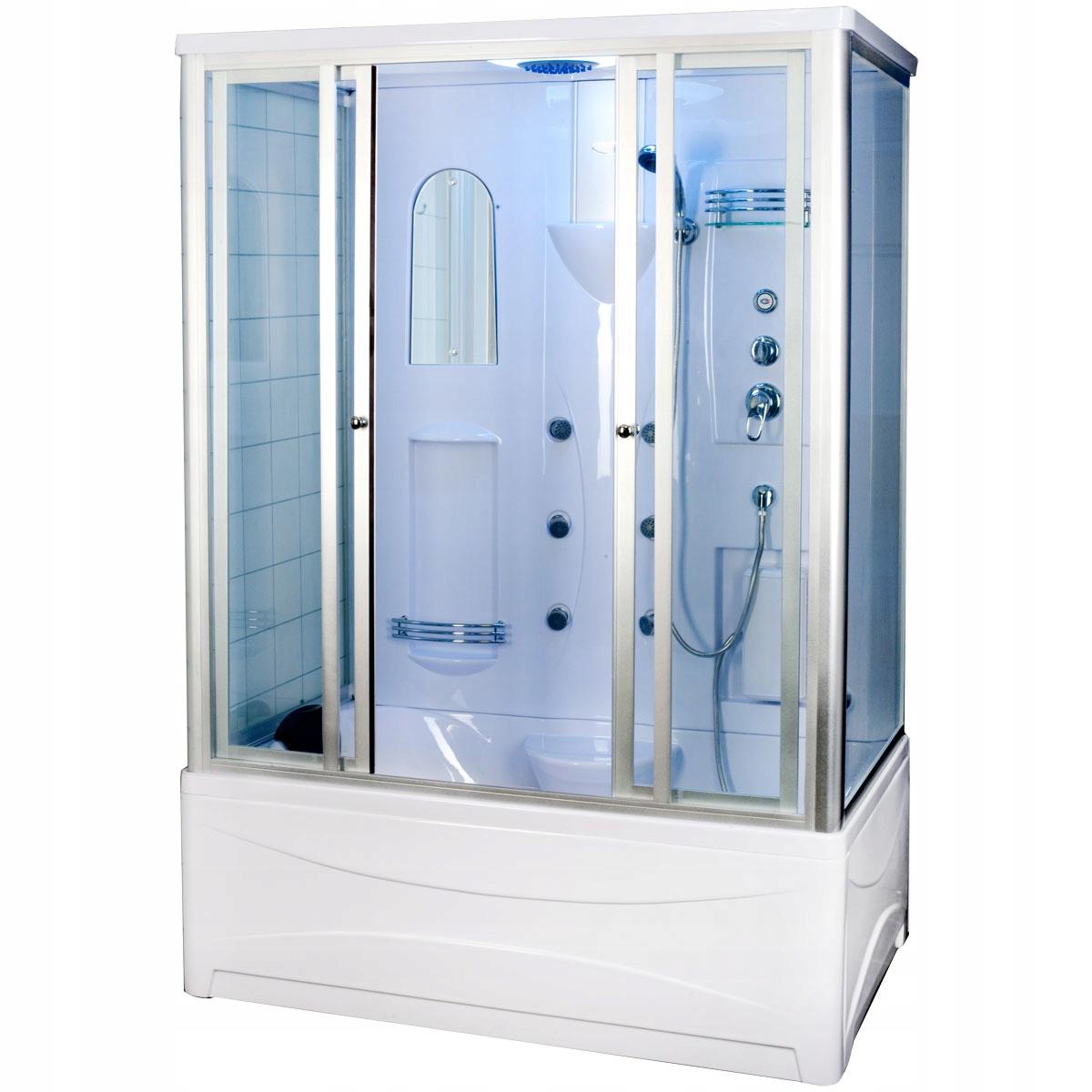 Hydromasážna sprchová kabína 5043 Duschy