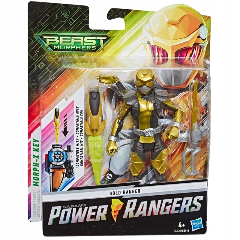 POWER RANGERS GOLD RANGER GOLD