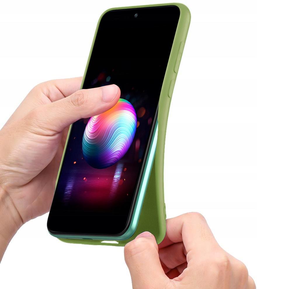 Etui do Samsung Galaxy A42 5G Case Silikon + Szkło Kod producenta F34
