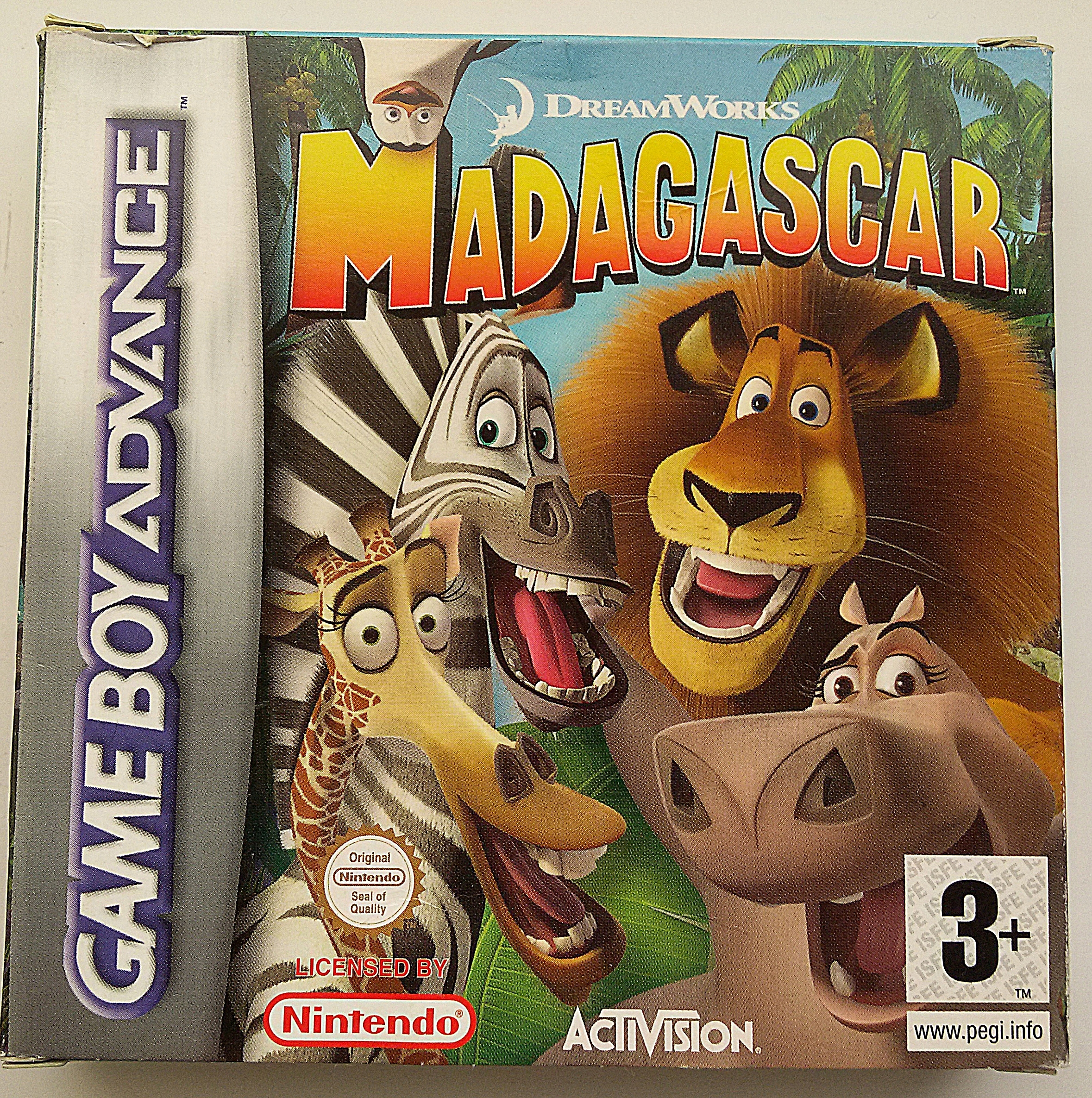 MADAGASCAR GAMEBOY ADVANCE NOVÉ JEDINEČNÉ
