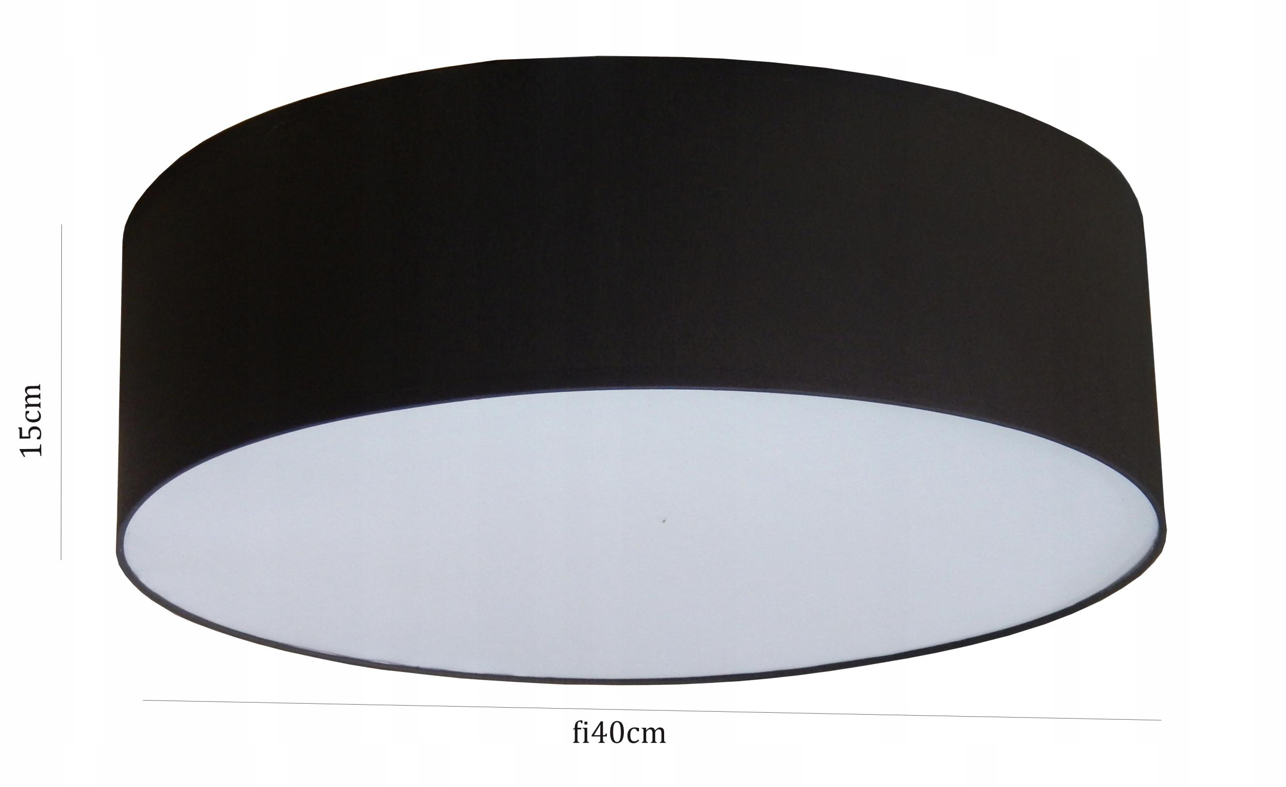LAMPAPLAFON SUFITOWY typ:LP 2 LED, ABAŻUR 40cm!