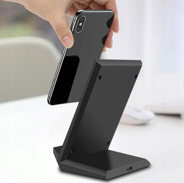 Ładowarka indukcyjna Samsung Galaxy S9 S10 S20 15W Kolor czarny