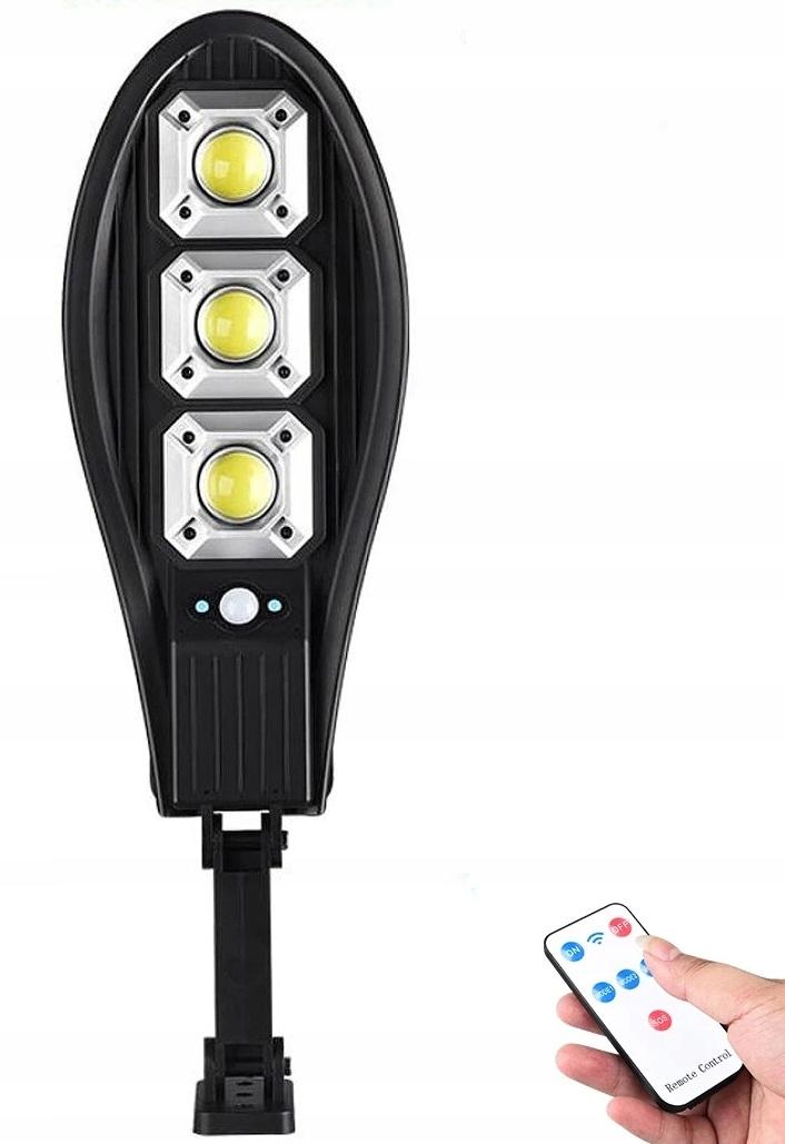 MOCNA LAMPA SOLARNA LATARNIA LED 180W + PILOT UCHW