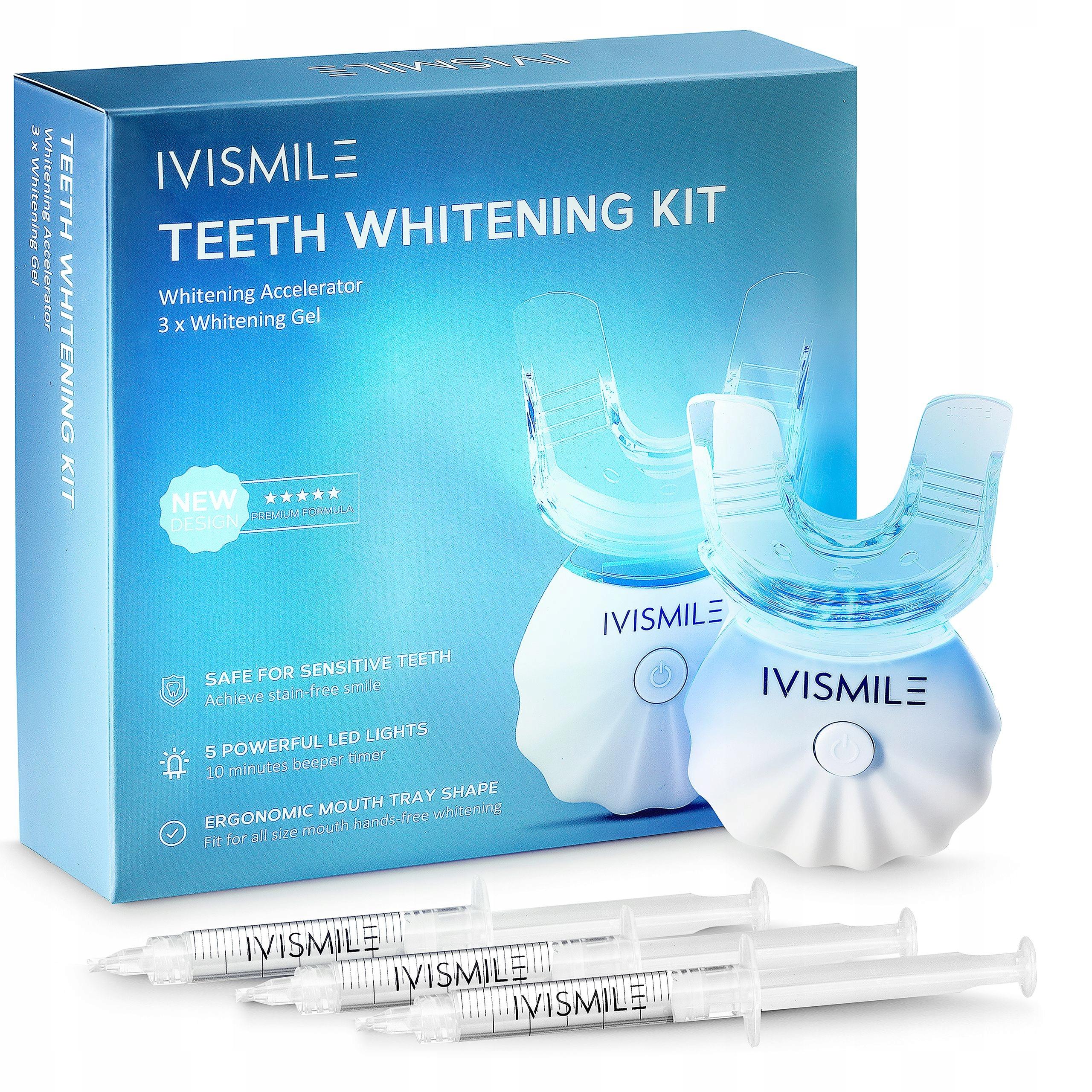 Zestaw do wybielania zębów IVISMILE NAJNOWSZY 2021