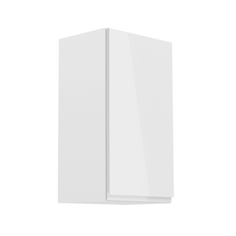 ASPEN G40-L šatník Ľavej stene Skrinka 40 biely lesk