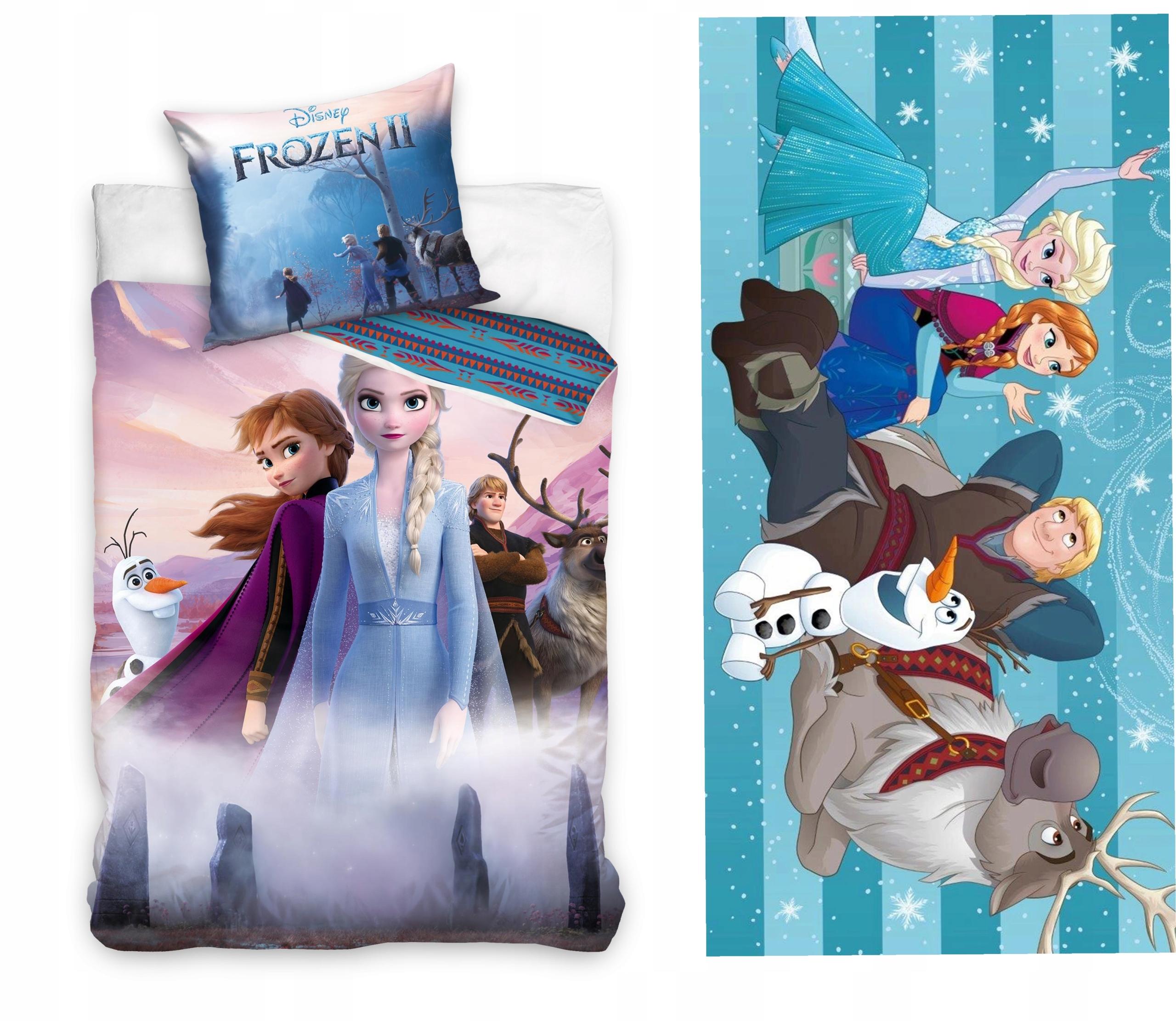 Posteľná bielizeň + Uterák Frozen Frozen 140x200 Olaf