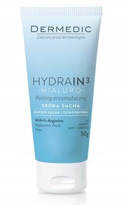 Dermedic Hydrain 3 Hialuro enzymatické peeling 50