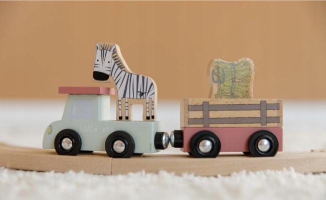 Little Dutch auto Zestaw kolejka pociąg Zoo Certyfikaty, opinie, atesty CE
