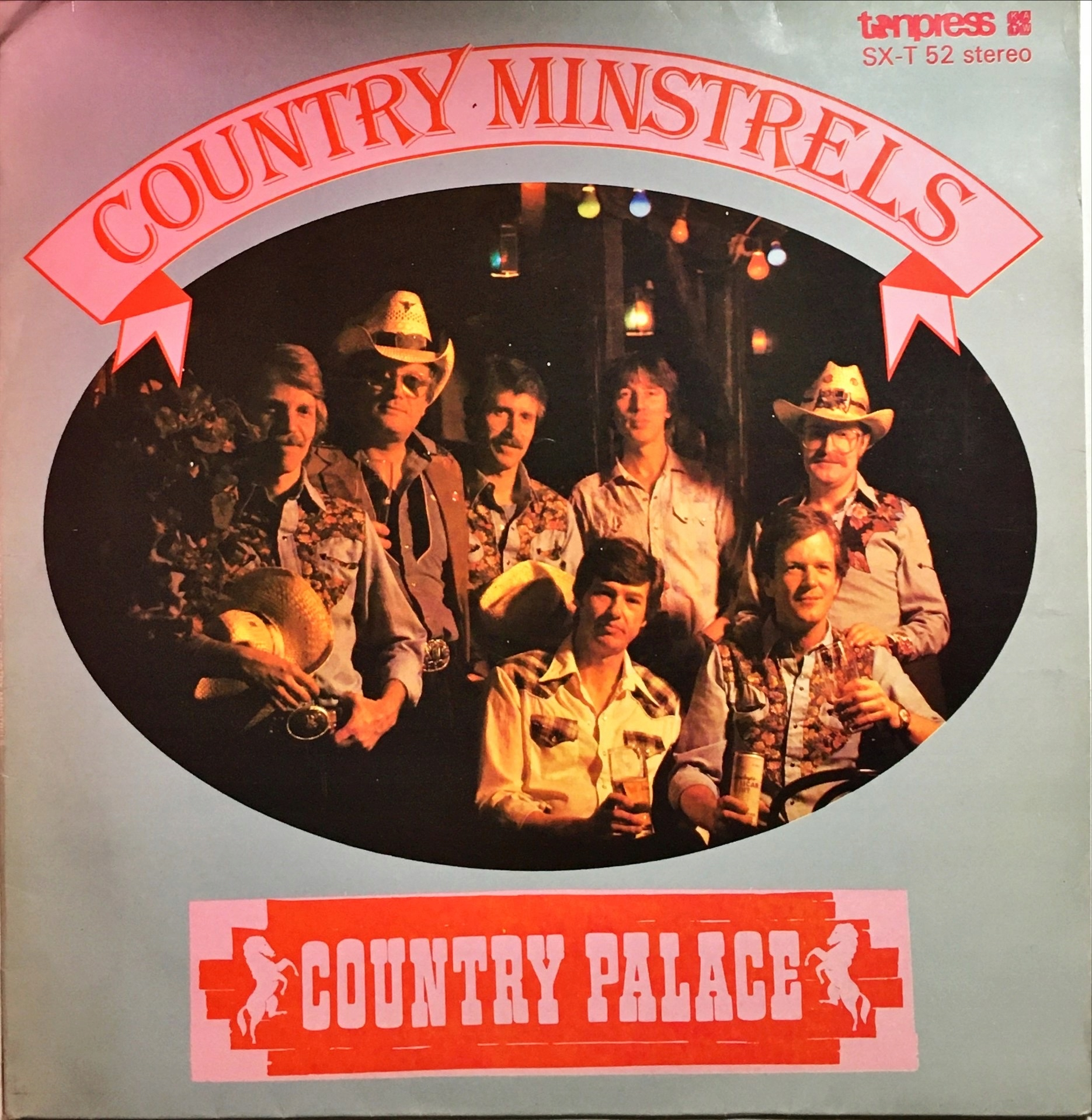 LP Contra Minstrels Country Palace