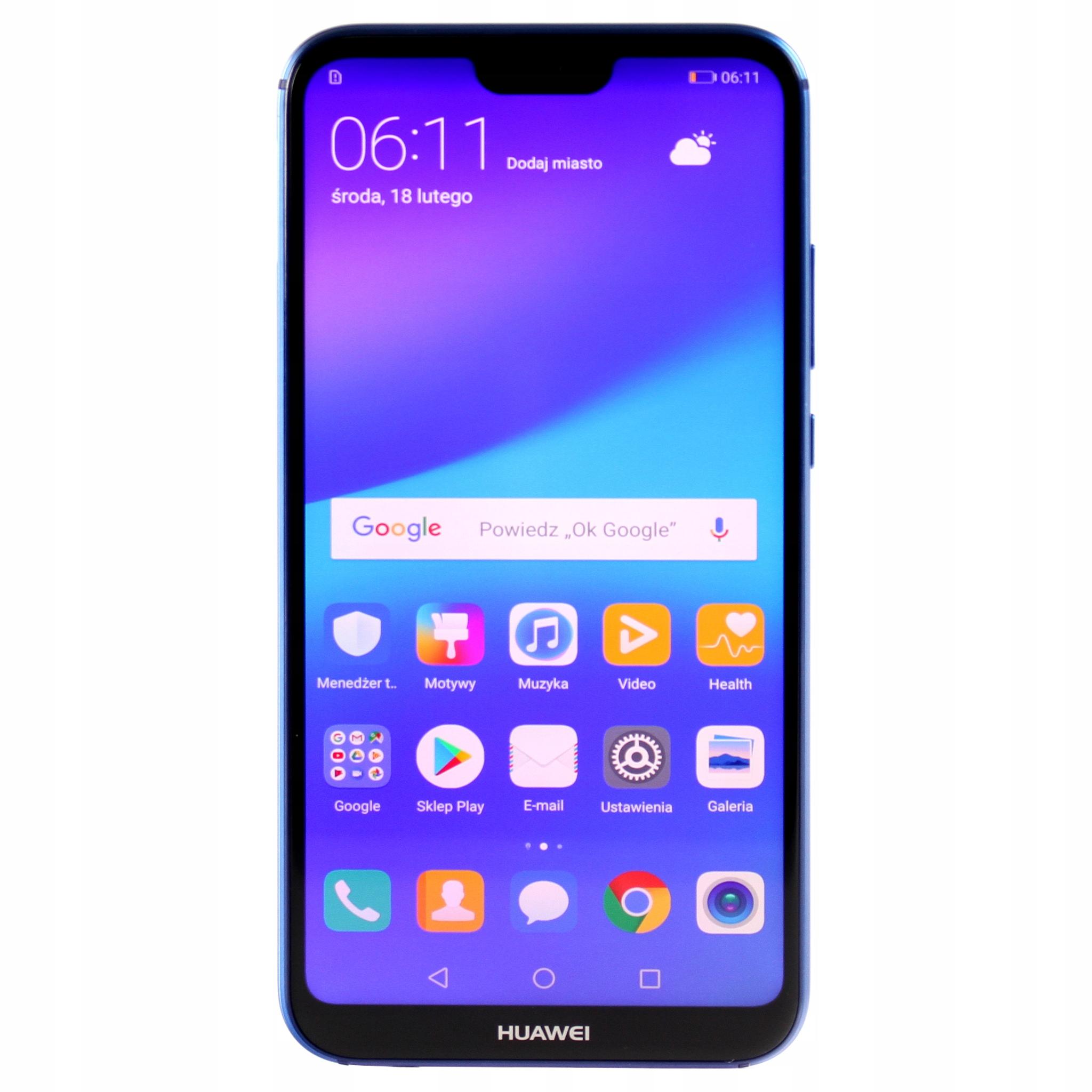 Smartfon HUAWEI P20 Lite / GWARANCJA / SKLEP