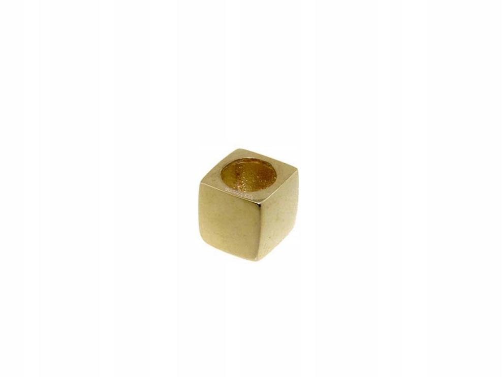 """Prívesok zlatej kocky """"VERONA"""" (ÁNO, Šperky)"""