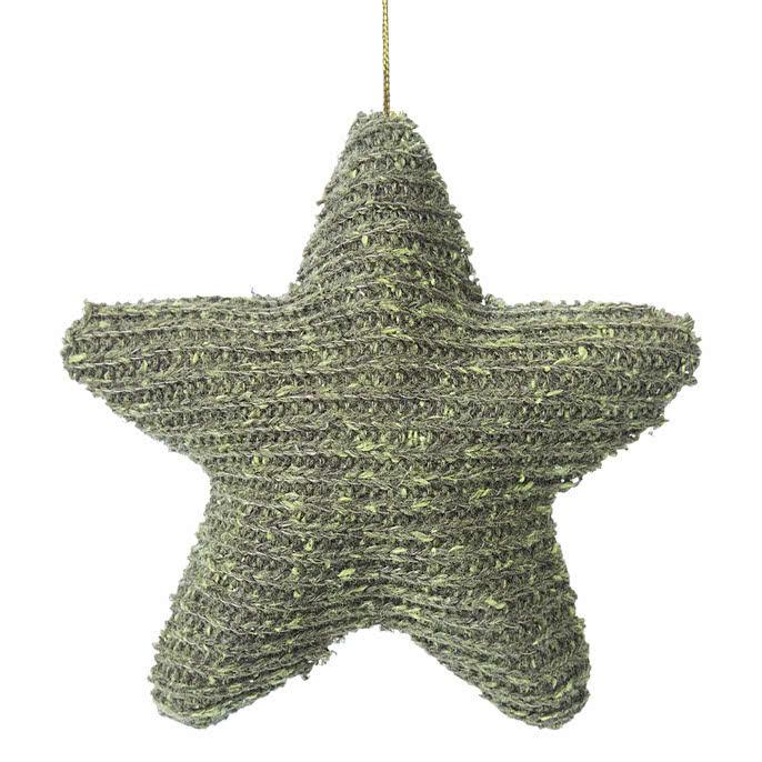 Prívesok na vianočný stromček, bytová dekorácia, 6 ks