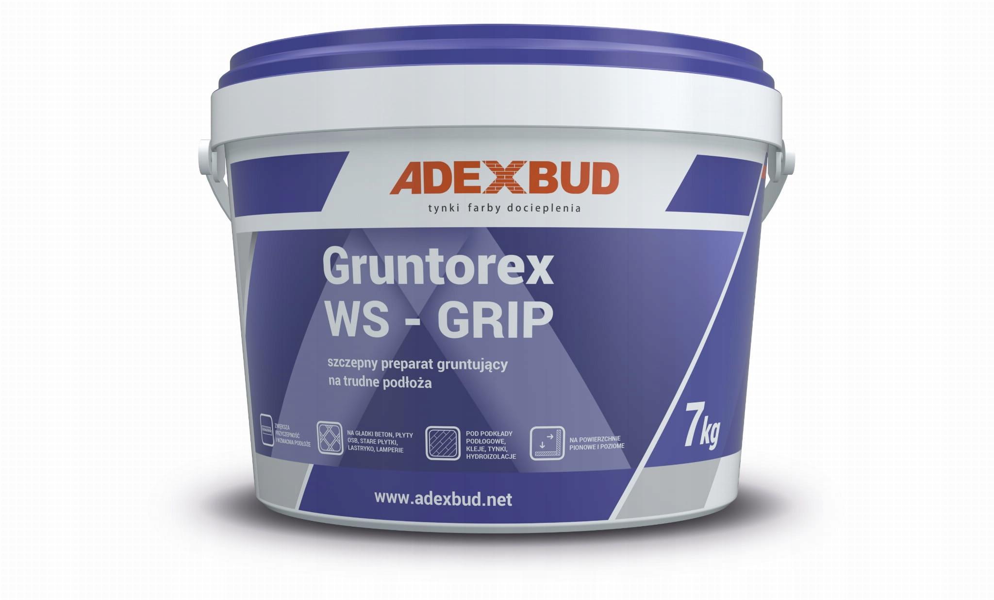GRUNTOREX WS-GRIP 4 kg grunt szczepny na trudne