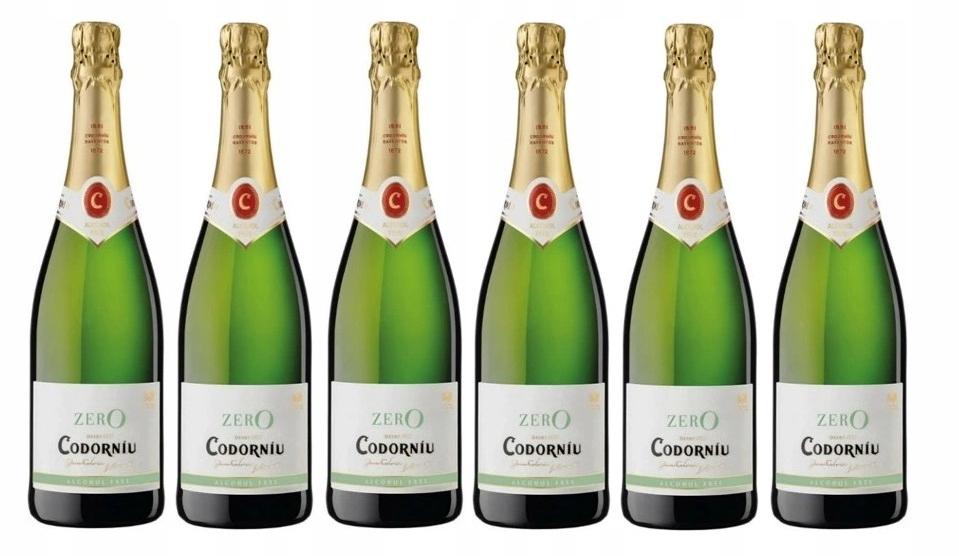 Wino BEZALKOHOLOWE Hiszpania Codorniu zestaw 6 win