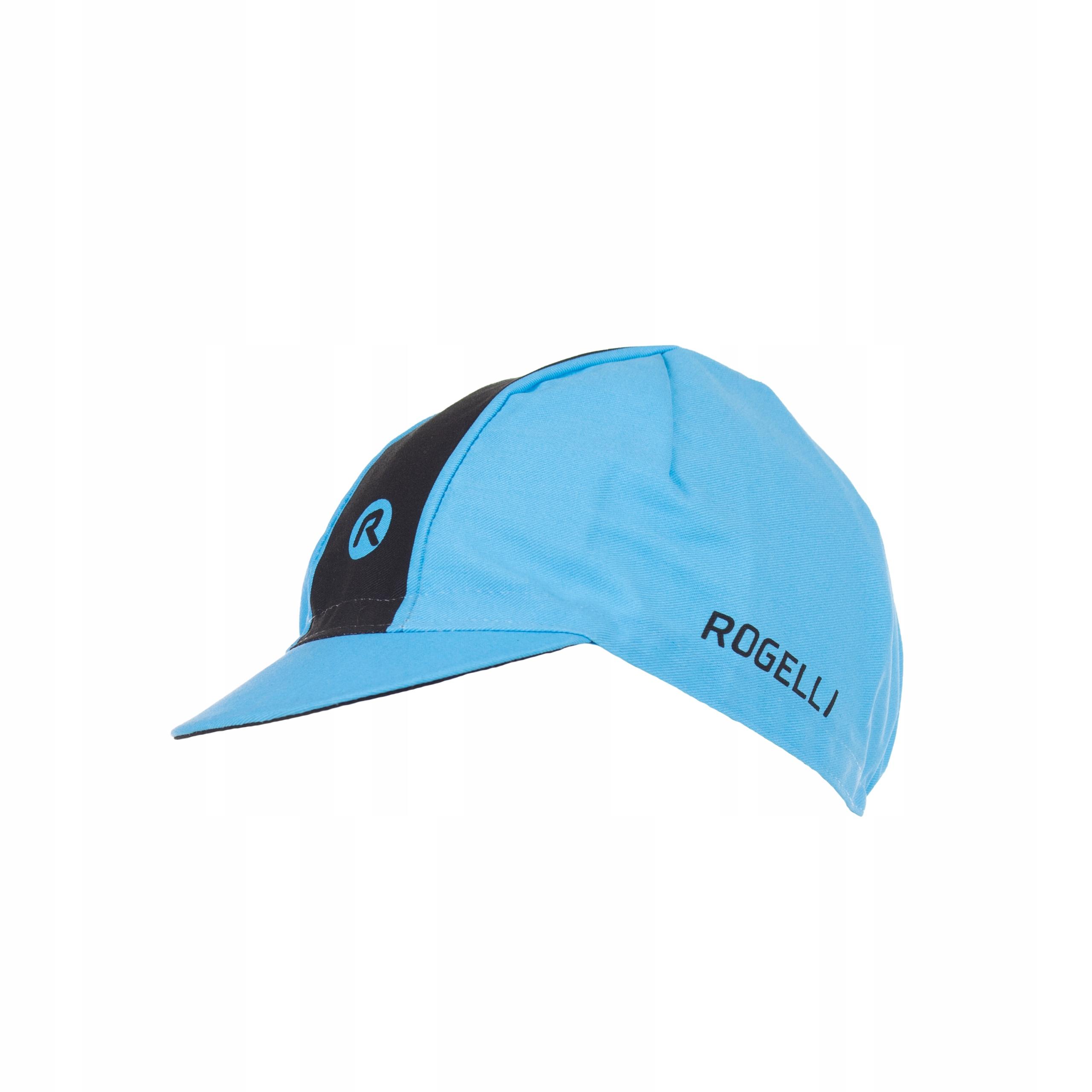 Retro cyklistická čiapka Rogelli pod prilbou