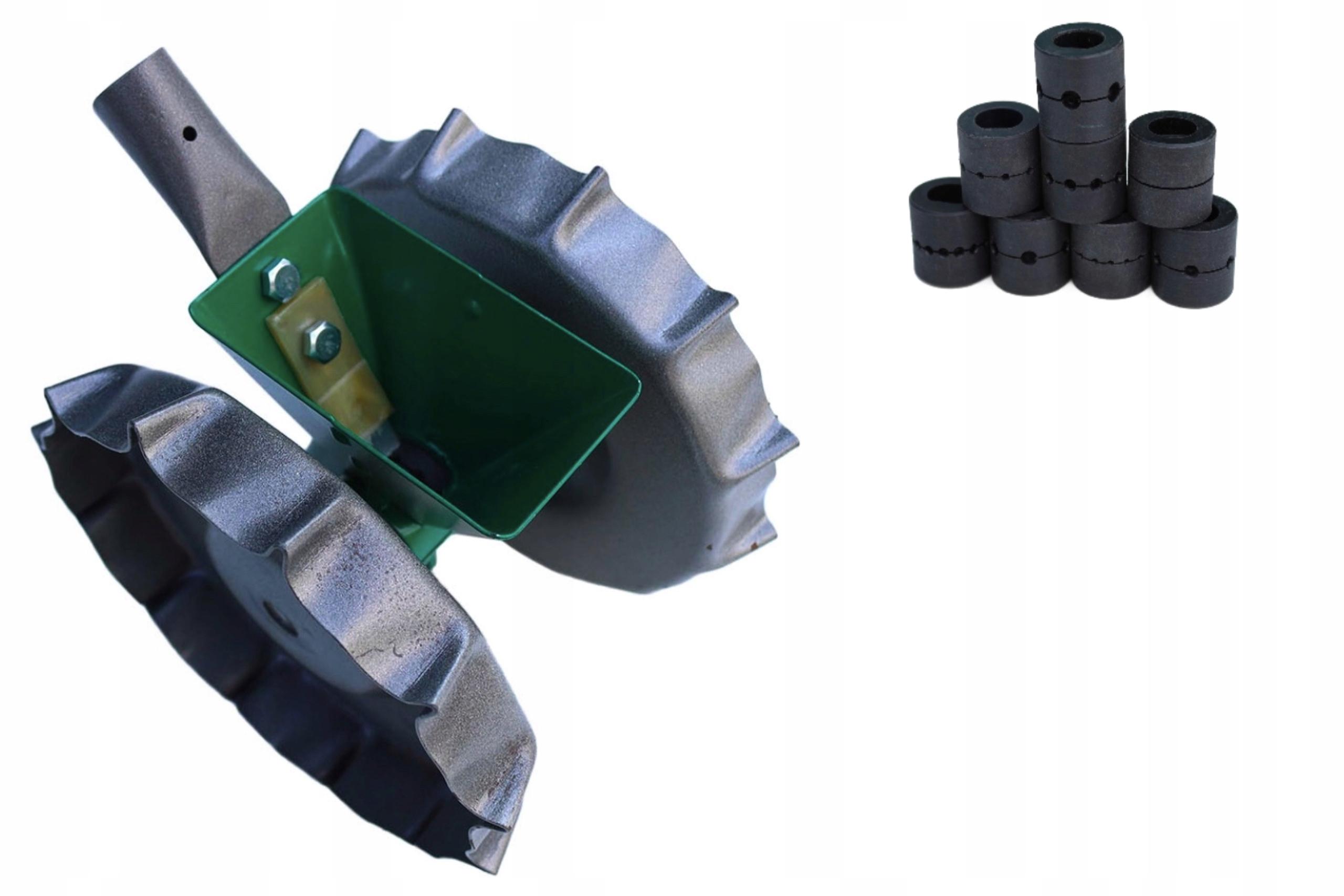Ręczny siewnik SMK-1 wraz z kompletem 9 bębenków