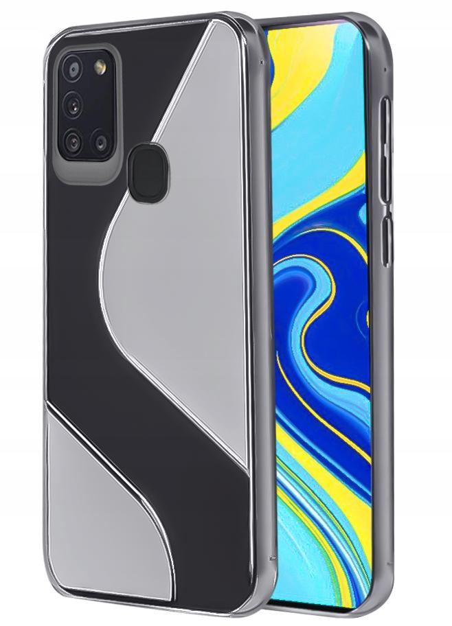 Etui do Samsung Galaxy A21S S-Case + Szkło 9H