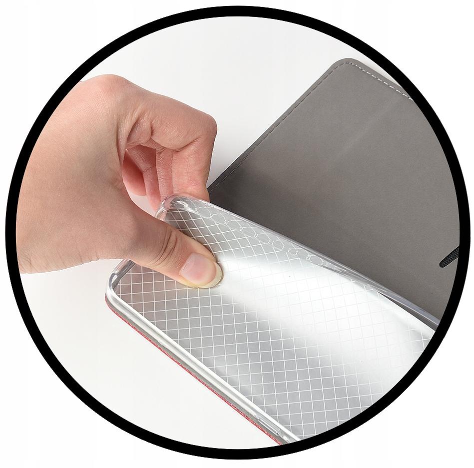 Etui Portfel na Magnes + Szkło 9H do Huawei Y5P Dedykowany model Huawei Y5p