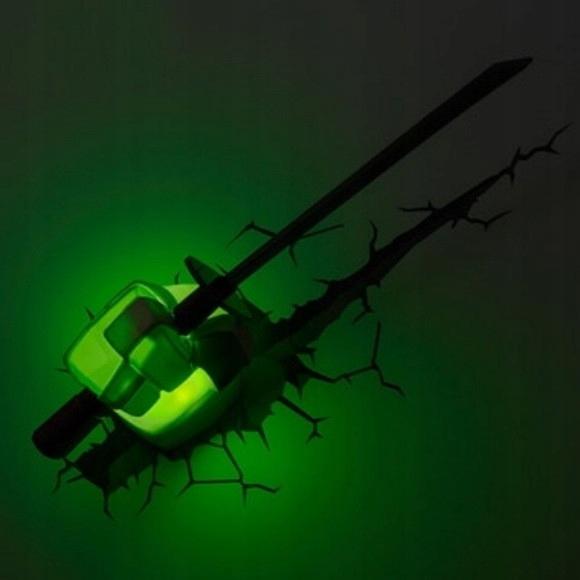 LAMPKA DEKORACYJNA 3D LEONARDO ŻÓŁWIE NINJA Kod producenta 140627