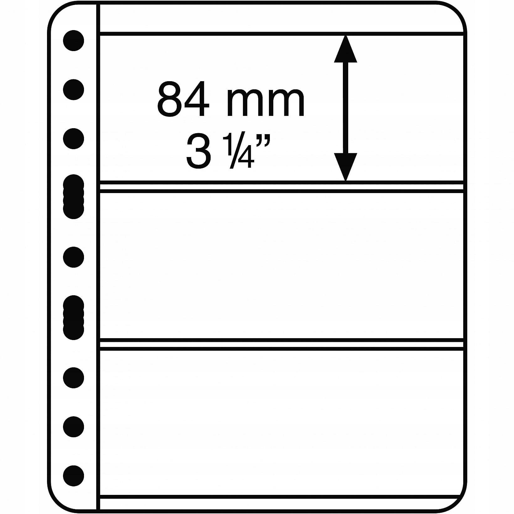 Купить Vario 3C - карта на документы, прозрачная 5 шт на Otpravka - цены и фото - доставка из Польши и стран Европы в Украину.