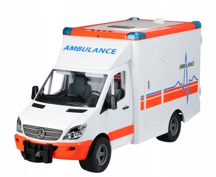 Hračky Ambulancia Mercedes-Benz Sprinter