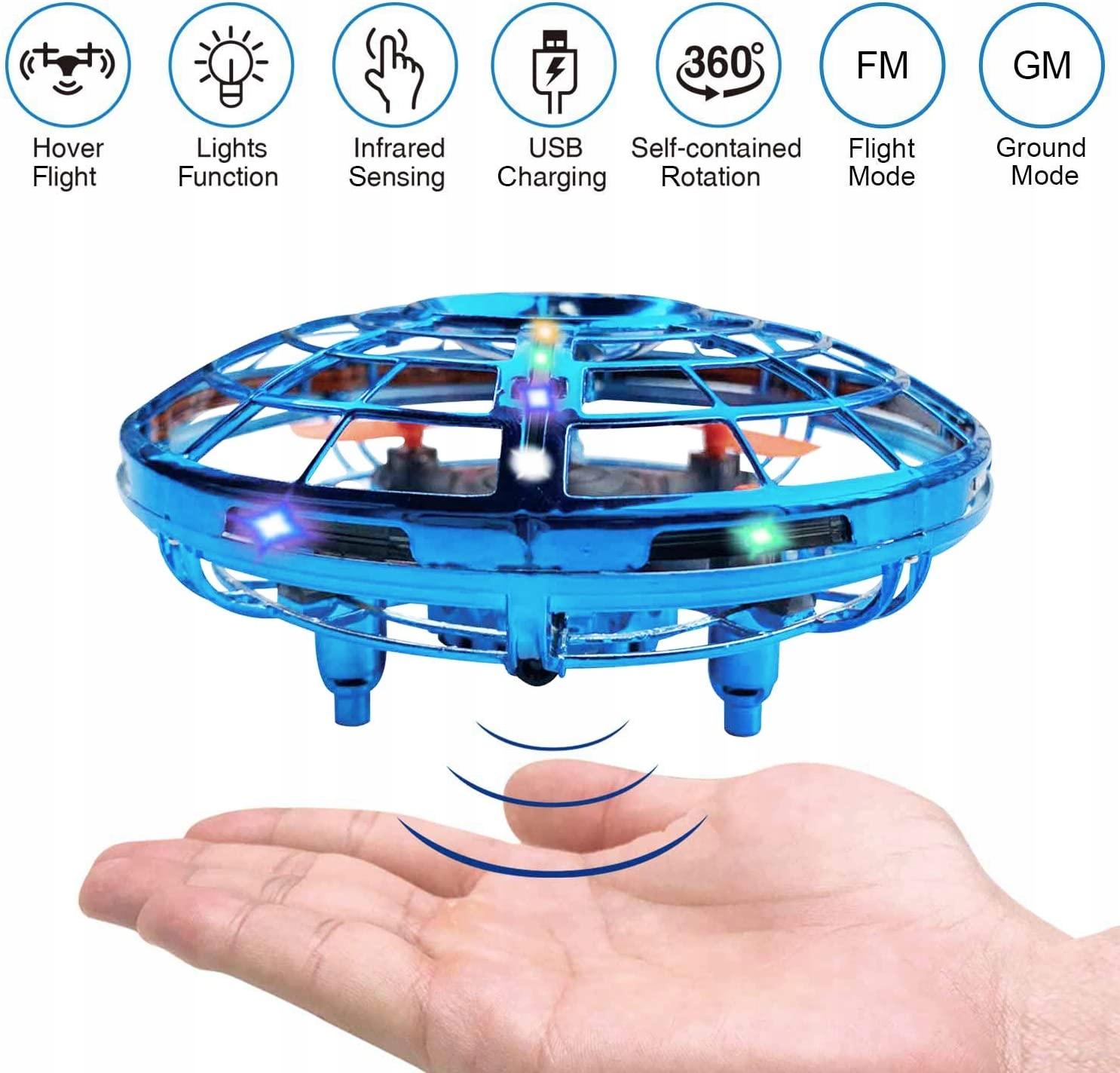 BRAND SET UFO mini lietajúci robot