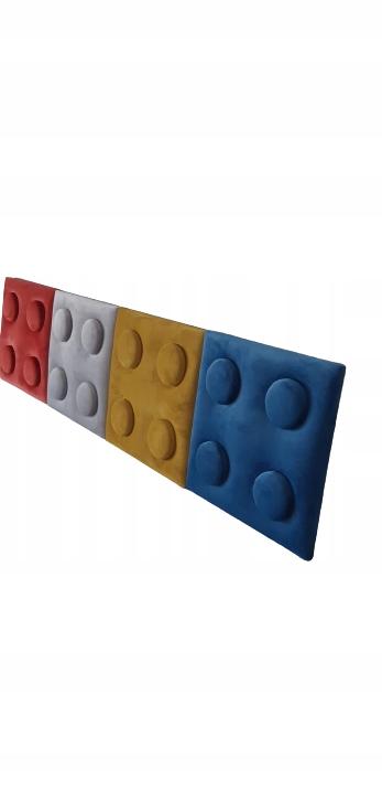 Стеновые мягкие панели Lego 25 х 25 см.