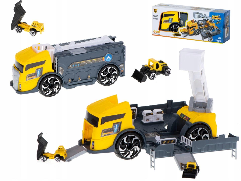 Автовоз грузовик авто 2в1 стоянка автовоз