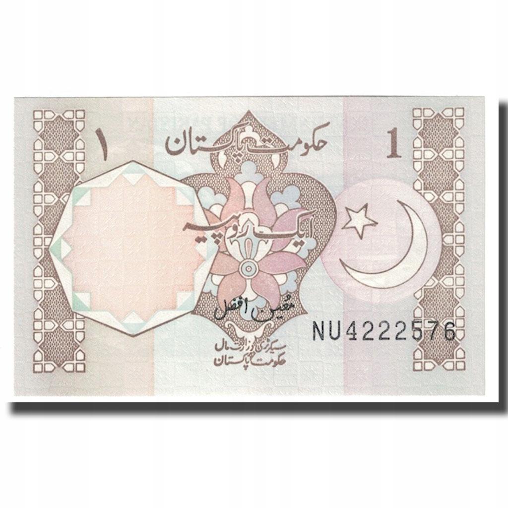Банкнота, Пакистан, 1 рупия, без даты (1983-), КМ: 2