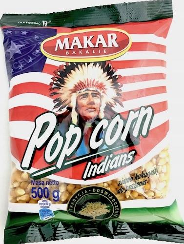 Makar Popcorn ziarno kukurydzy do prażenia 500g