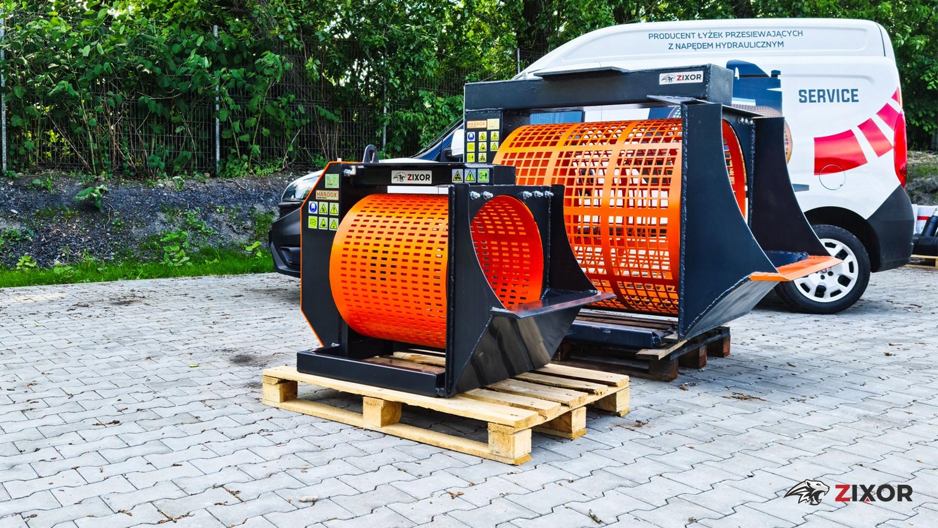 Просеивающий ковш / просеивающая машина Hardox