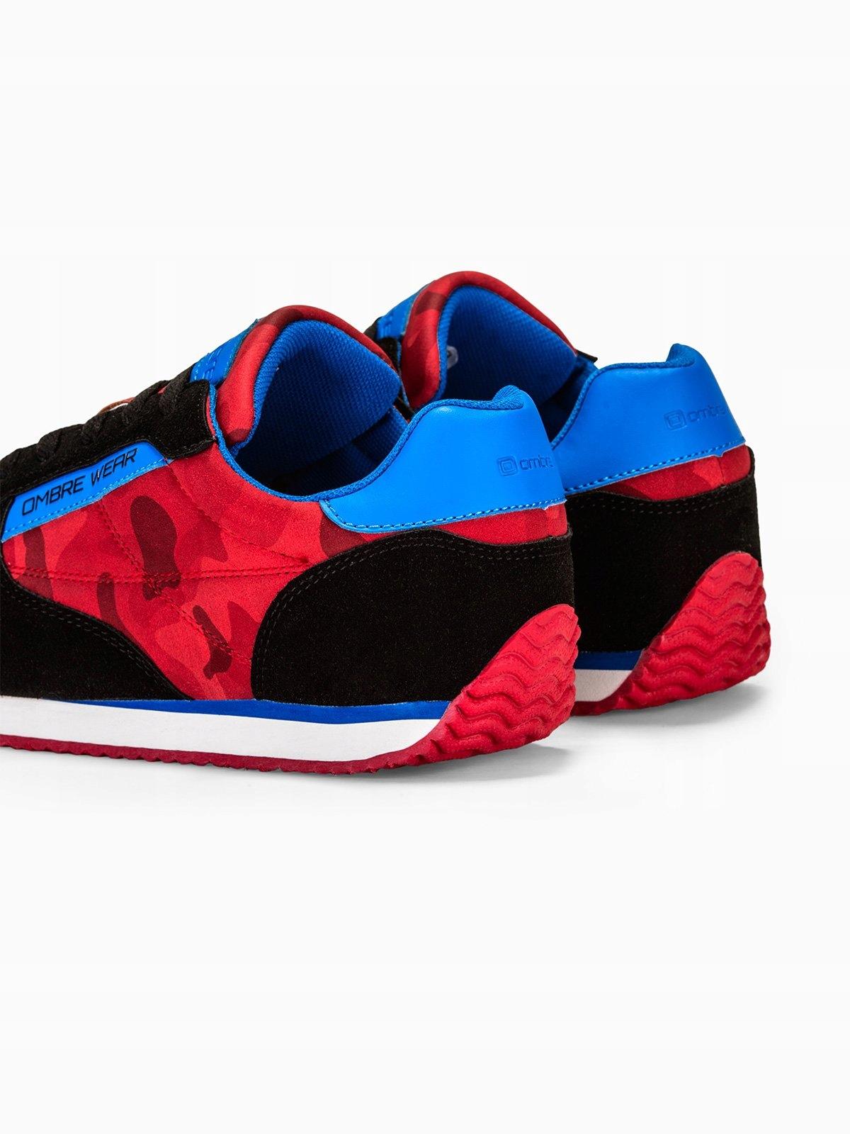 Buty męskie sneakersy T310 czerwone